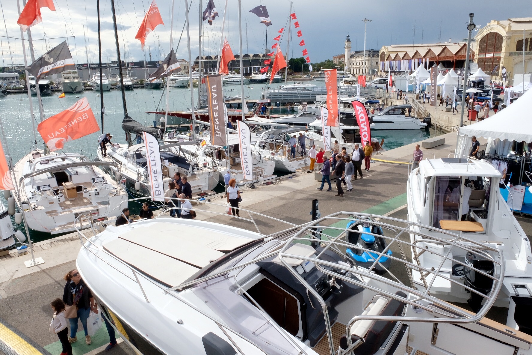 Valencia Boat Show: unprecedented growth